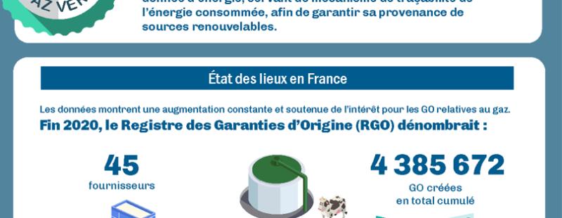 Les Garanties d'Origine pour le gaz : l'ouverture du marché français le 30 juin 2021